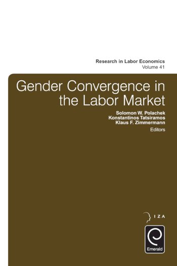 Book cover for Gender Convergence in the Labor Market a book by Solomon W. Polachek, Konstantinos  Tatsiramos, Klaus F. Zimmermann