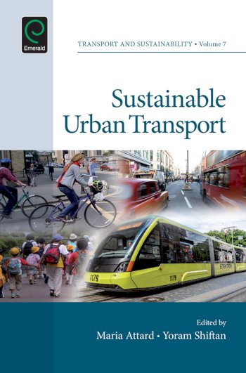 Book cover for Sustainable Urban Transport a book by Maria  Attard, Yoram  Shiftan