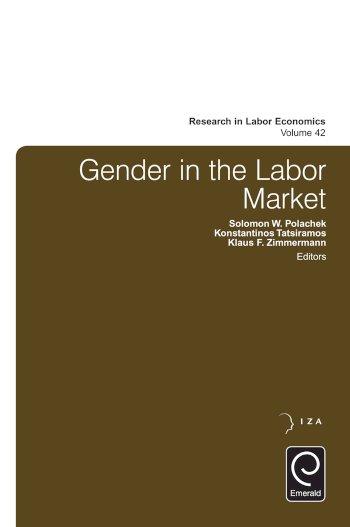 Book cover for Gender in the Labor Market a book by Solomon W. Polachek, Konstantinos  Tatsiramos, Klaus F. Zimmermann