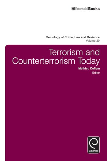 Book cover for Terrorism and Counterterrorism Today a book by Mathieu  Deflem