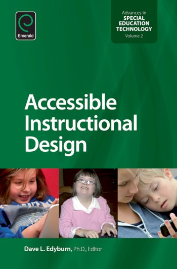Book cover for Accessible Instructional Design a book by Dave L. Edyburn