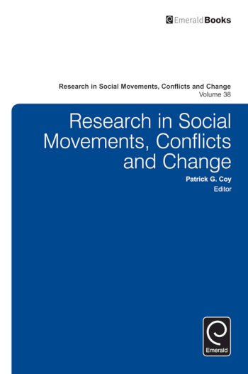 Book cover for Research in Social Movements, Conflicts and Change a book by Patrick G. Coy