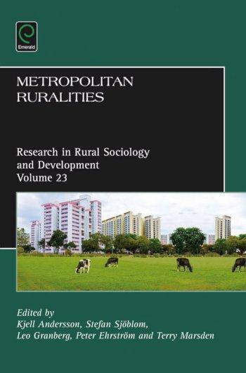 Book cover for Metropolitan Ruralities a book by Terry  Marsden, Kjell  Andersson, Stefan  Sjblom, Leo  Granberg, Peter  Ehrstrm, Terry  Marsden