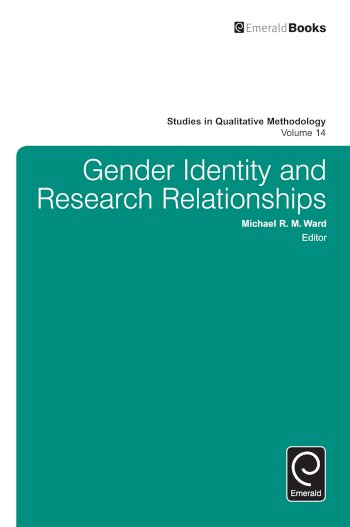 Book cover for Gender Identity and Research Relationships a book by Sam  Hillyard, Michael R. M Ward