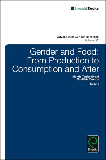Book cover for Gender and Food:  From Production to Consumption and After a book by Marcia Texler Segal, Vasilikie  Demos