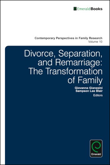 Book cover for Divorce, Separation, and Remarriage:  The Transformation of Family a book by Giovanna  Gianesini, Sampson Lee Blair