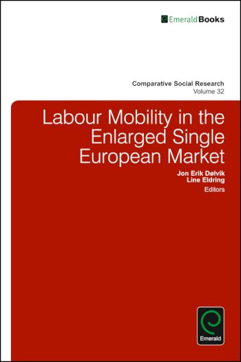 Book cover for Labour Mobility in the Enlarged Single European Market a book by Jon Erik Dlvik, Line  Eldring