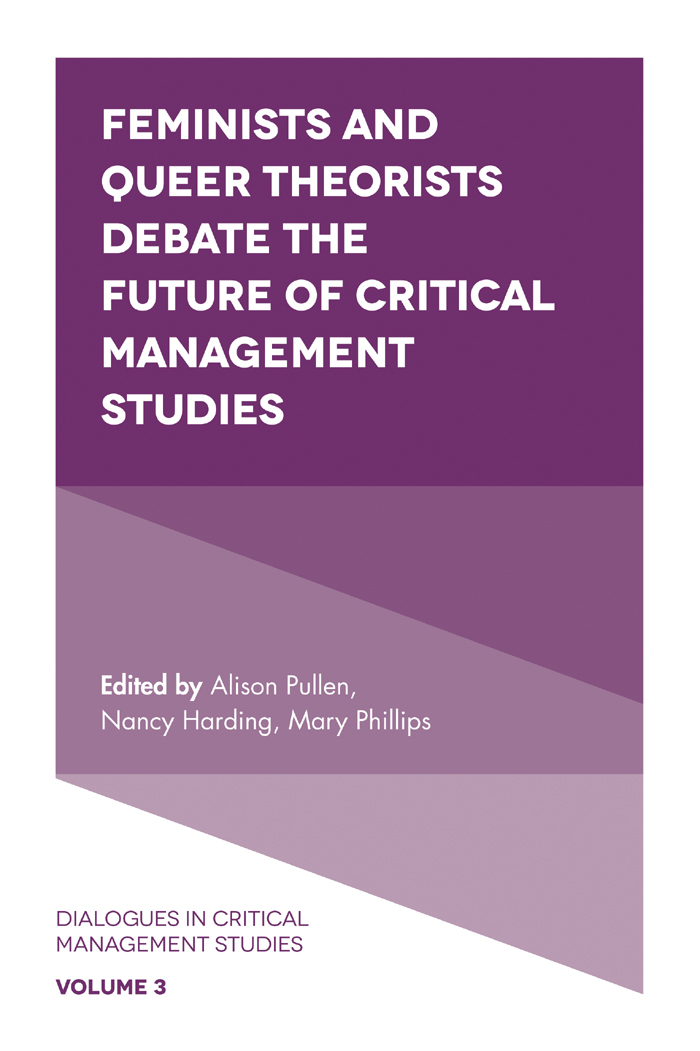 Feminists And Queer Theorists Debate The Future Of Critical Management Studies