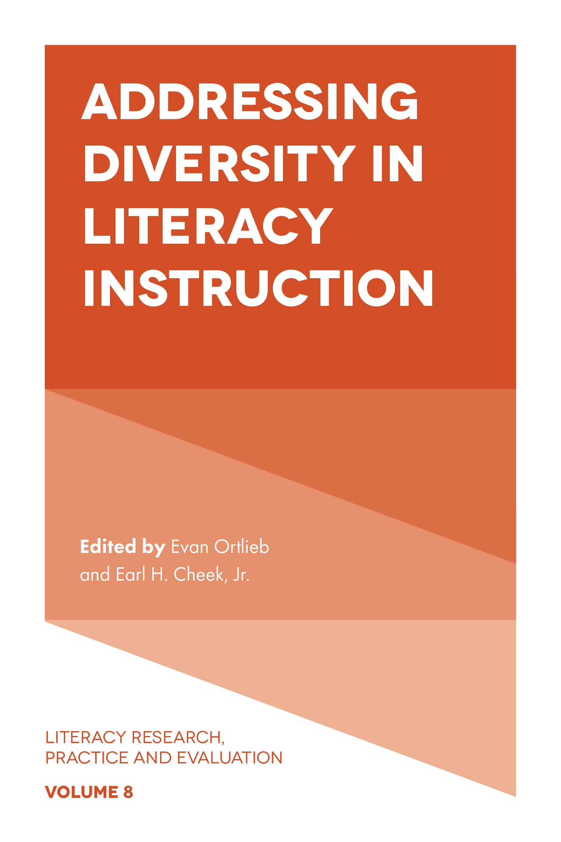 Book cover for Addressing Diversity in Literacy Instruction a book by Evan  Ortlieb, Earl H. Cheek Jr.