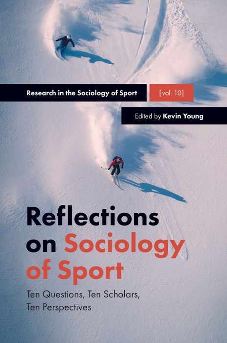 Book cover for Reflections on Sociology of Sport:  Ten Questions, Ten Scholars, Ten Perspectives a book by Kevin  Young