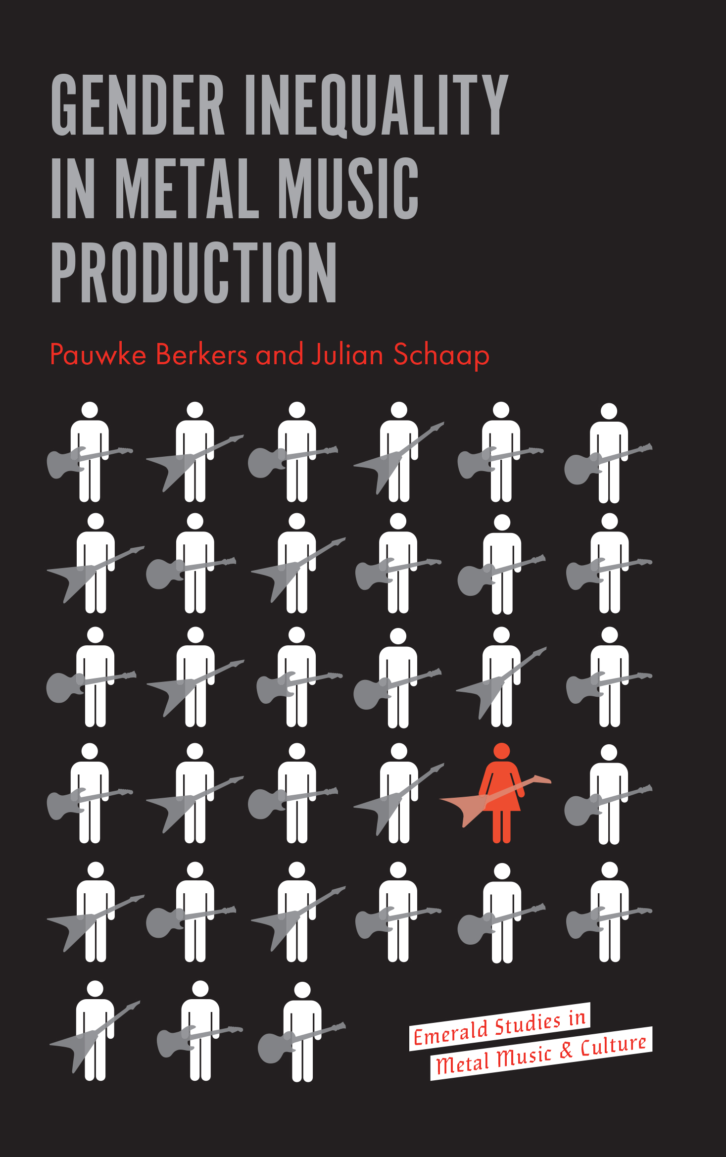 Book cover for Gender Inequality in Metal Music Production a book by Pauwke  Berkers, Julian  Schaap