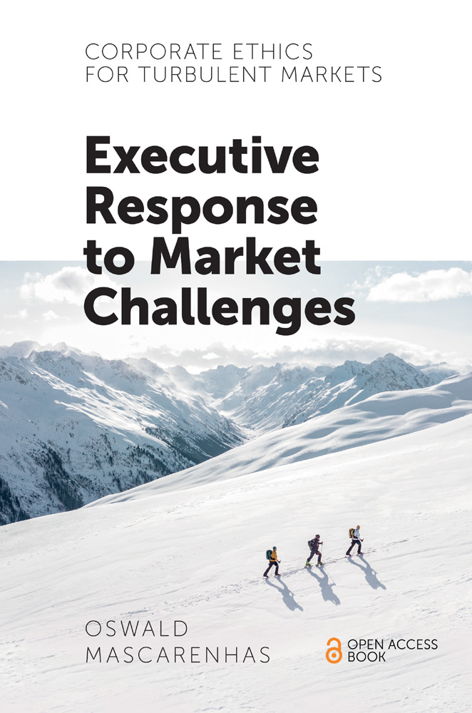 Book cover for Corporate Ethics for Turbulent Markets:  Executive Response to Market Challenges a book by Oswald  Mascarenhas