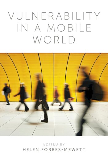 Book cover for Vulnerability in a Mobile World a book by Helen  ForbesMewett