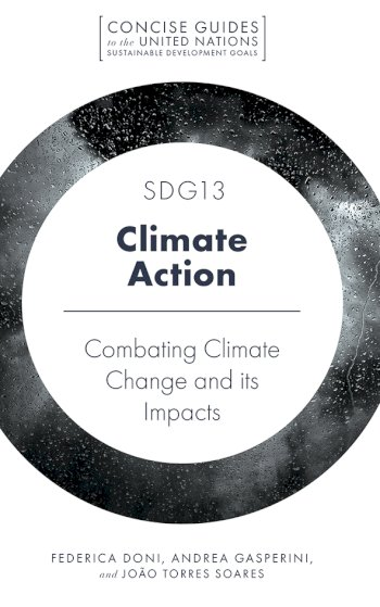 Book cover for SDG13 - Climate Action:  Combatting Climate Change and its Impacts a book by Federica  Doni, Andrea  Gasperini, Joo Torres Soares