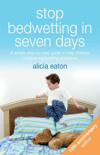 Book cover for Stop Bedwetting in Seven Days:  A simple step-by-step guide to help children conquer bedwetting problems a book by Alicia  Eaton