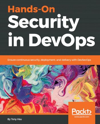 Book cover for Hands-On Security in DevOps:  Ensure continuous security, deployment, and delivery with DevSecOps a book by Tony  Hsu