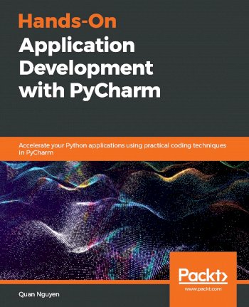 Book cover for Hands-On Application Development with PyCharm:  Accelerate your Python applications using practical coding techniques in PyCharm a book by Quan  Nguyen