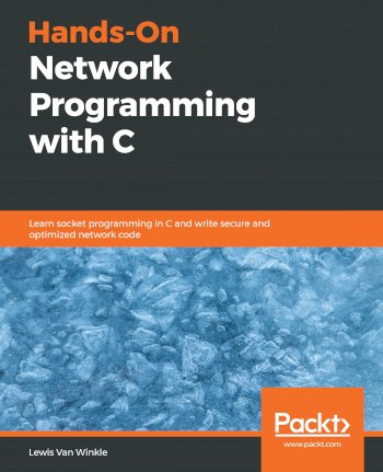 Book cover for Hands-On Network Programming with C:  Learn socket programming in C and write secure and optimized network code a book by Lewis Van Winkle
