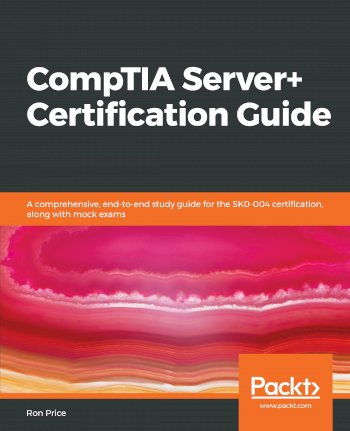 Book cover for CompTIA Server+ Certification Guide:  A comprehensive, end-to-end study guide for the SK0-004 certification, along with mock exams a book by Ron  Price