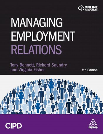 Book cover for Managing Employment Relations a book by Tony  Bennett, Richard  Saundry, Virginia  Fisher