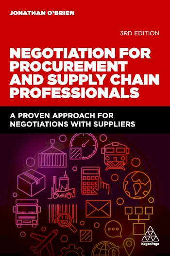 Book cover for Negotiation for Procurement and Supply Chain Professionals:  A Proven Approach for Negotiations with Suppliers a book by Jonathan  O'Brien