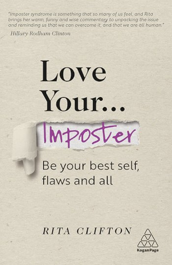 Book cover for Love Your Imposter: Be Your Best Self, Flaws and All, a book by Rita  Clifton
