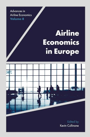Book cover for Airline Economics in Europe a book by Kevin  Cullinane