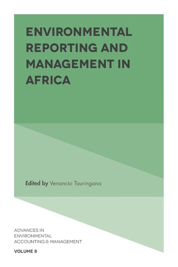 Book cover for Environmental Reporting and Management in Africa a book by Venancio  Tauringana