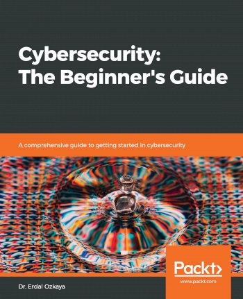 Book cover for Cybersecurity:  The Beginner's Guide a book by Dr. Erdal Ozkaya