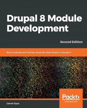 Book cover for Drupal 8 Module Development:  Build modules and themes using the latest version of Drupal 8 a book by Daniel  Sipos