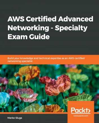 Book cover for AWS Certified Advanced Networking - Specialty Exam Guide:  Build your knowledge and technical expertise as an AWS-certified networking specialist a book by Marko  Sluga