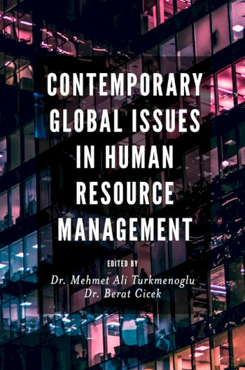 Book cover for Contemporary Global Issues in Human Resource Management a book by Mehmet Ali Trkmenolu, Berat  Cicek