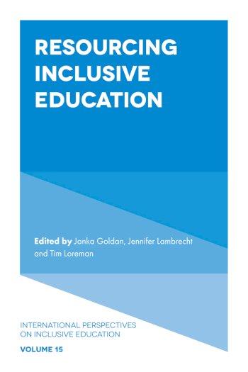 Book cover for Resourcing Inclusive Education a book by Janka  Goldan, Jennifer  Lambrecht, Tim  Loreman