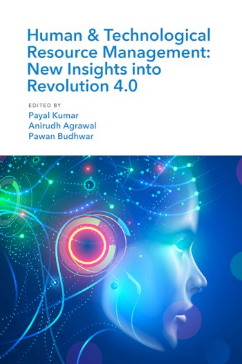 Book cover for Human & Technological Resource Management (HTRM):  New Insights into Revolution 40 a book by Payal  Kumar, Anirudh  Agrawal, Pawan  Budhwar