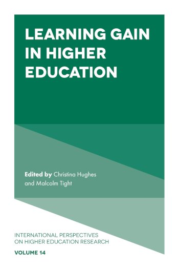 Book cover for Learning Gain in Higher Education a book by Christina  Hughes, Malcolm  Tight