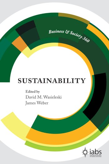 Book cover for Sustainability a book by David M. Wasieleski, James  Weber