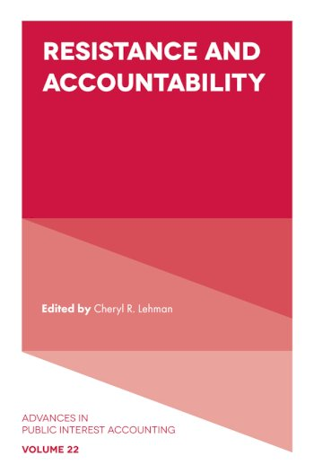 Book cover for Resistance and Accountability a book by Cheryl R. Lehman