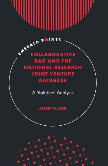 Book cover for Collaborative R&D and the National Research Joint Venture Database:  A Statistical Analysis a book by Albert N. Link