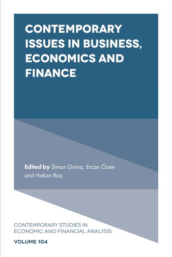 Book cover for Contemporary Issues in Business, Economics and Finance a book by Simon  Grima, Ercan  Zen, Hakan  Boz