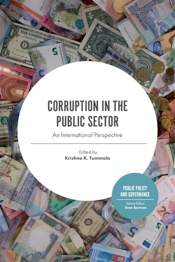 Book cover for Corruption in the Public Sector:  An lnternational Perspective a book by Krishna K. Tummala