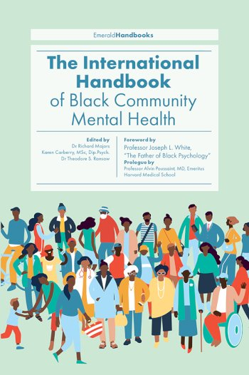 Book cover for The International Handbook of Black Community Mental Health a book by Richard  Majors, Karen  Carberry, Dr Theodore  Ransaw