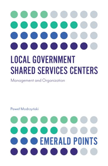 Book cover for Local Government Shared Services Centers:  Management and Organization a book by Pawe  Modrzyski