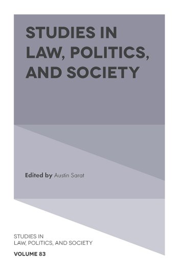Book cover for Studies in Law, Politics, and Society a book by Austin  Sarat