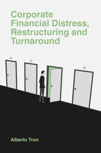 Book cover for Corporate Financial Distress:  Restructuring and Turnaround, a book by Alberto  Tron