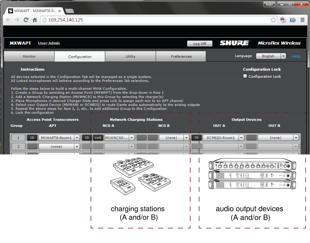 Shure Publications | User Guides | MXW