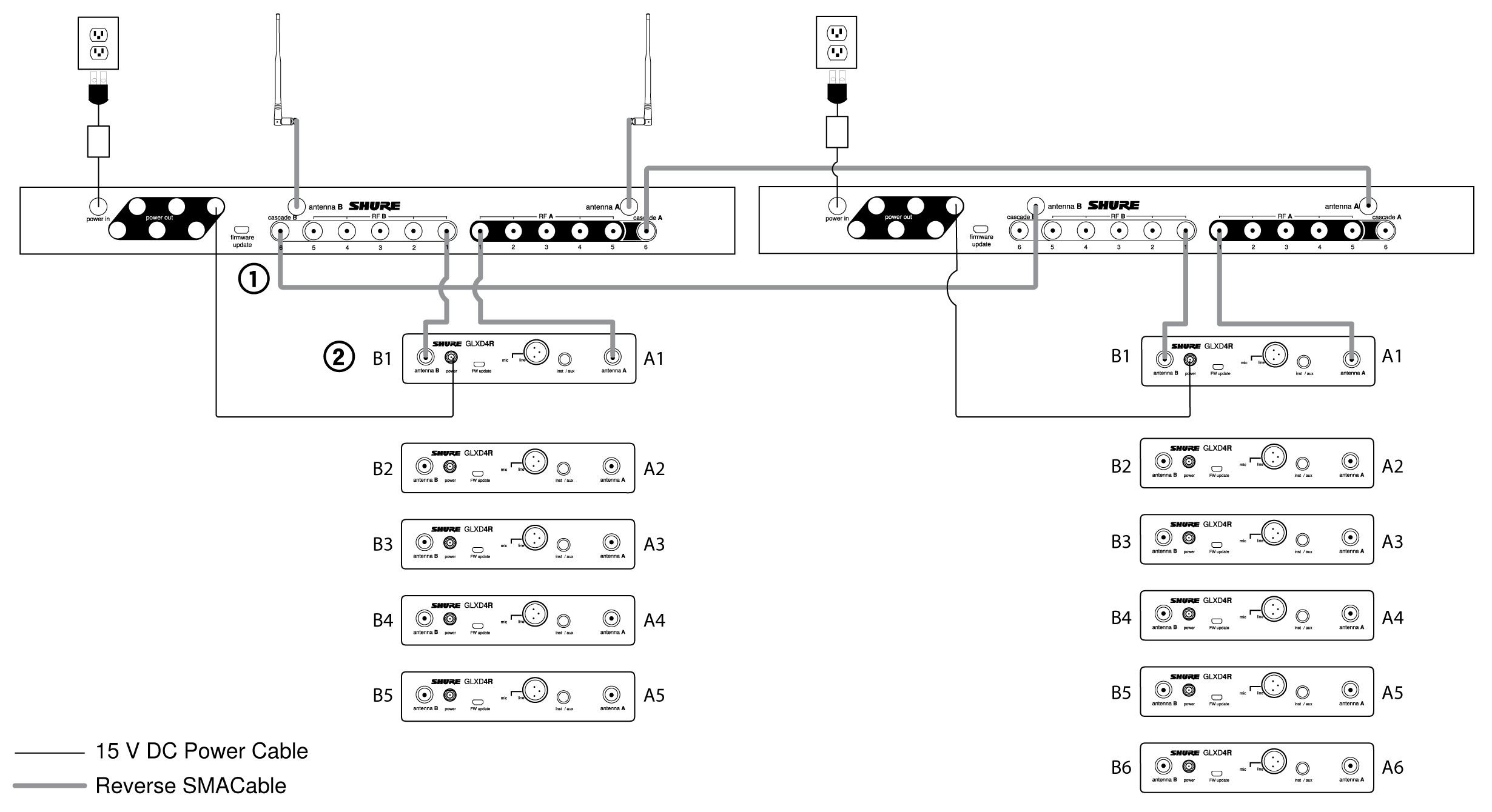 cascaded form c dry contact wiring schematic