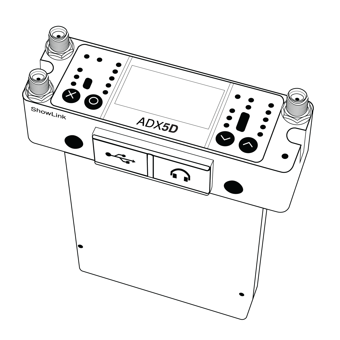 The ADX5D receiver