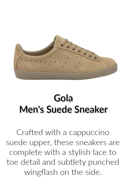 Gola Men's Suedu Sneaker