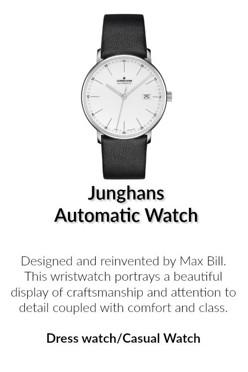 Junghans automatic wristwatch
