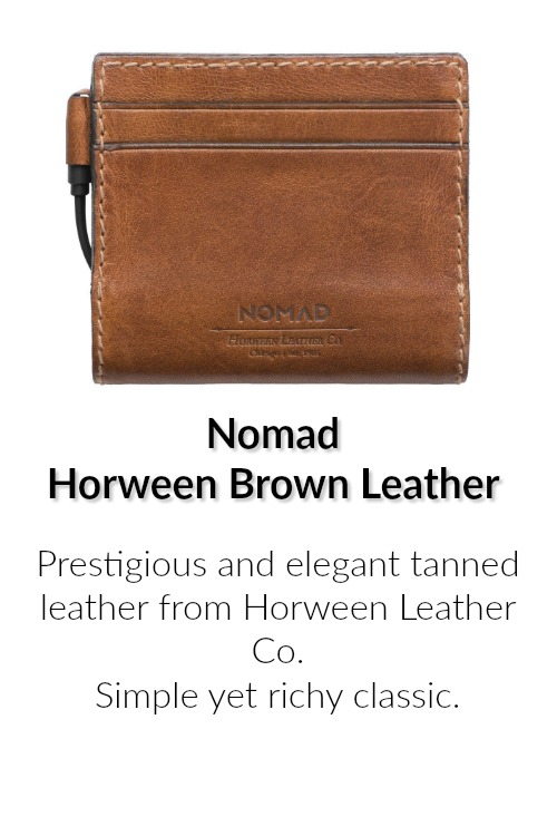 Nomad Horween Leather Wallet